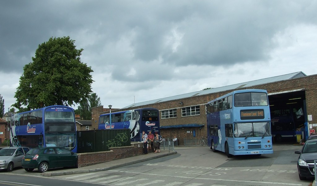 Transdev York 2002 at Malton Bus Station Depot Flickr Photo