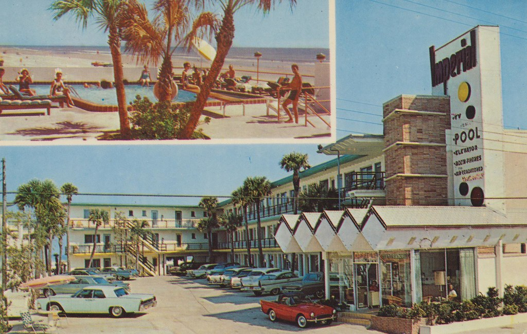 Hoehn's Imperial Beach Motel - Daytona Beach, Florida