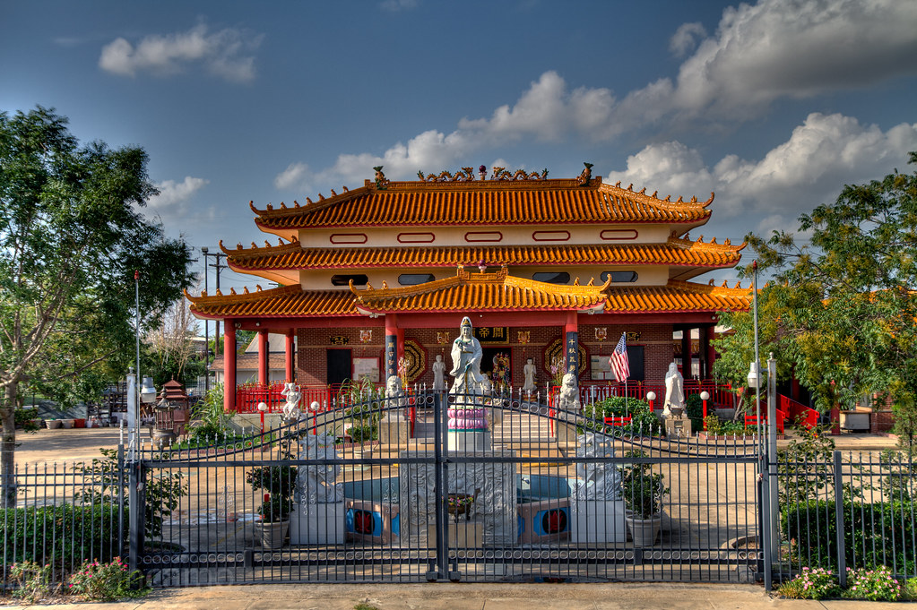 Guandi Buddhist Vietnamese Temple Photo By Dan Pancamo