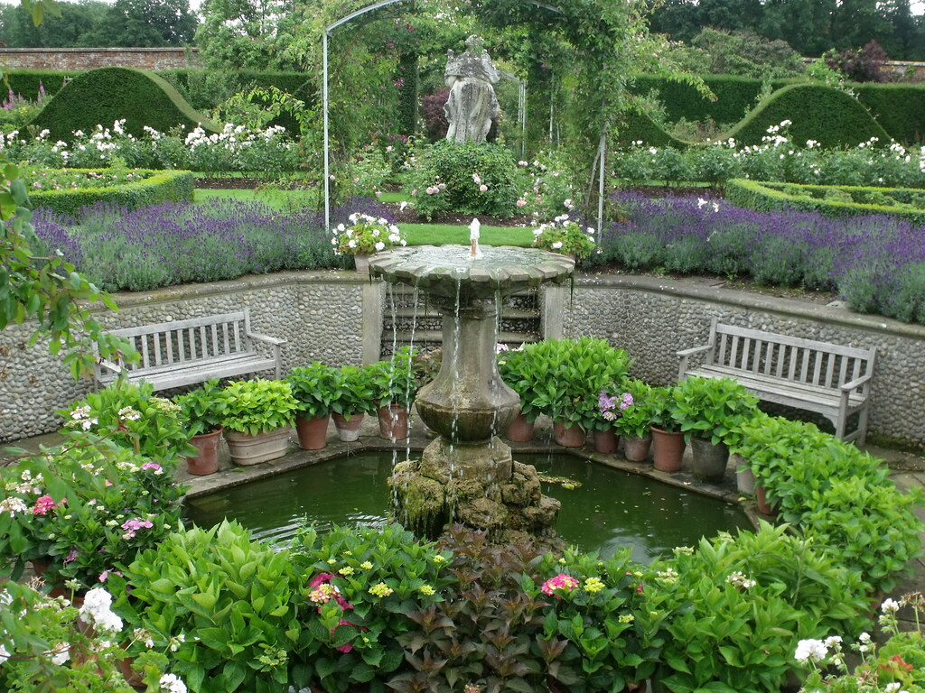 ... Houghton Hall   Walled Garden   Rose Garden   Fountain | By Ell Brown