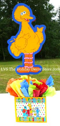 Personalized Big Bird Sesame Street Yellow Supplies Birthd Flickr