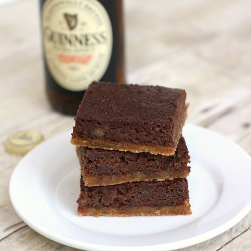 Black and Tan Brownies | by Tracey's Culinary Adventures