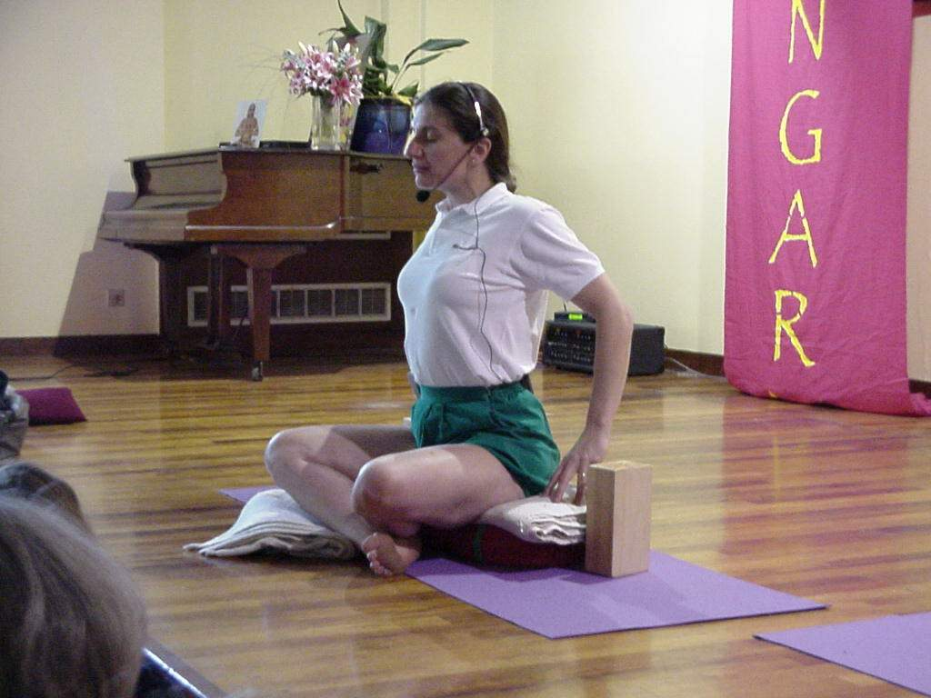 Image result for corine biria iyengar yoga