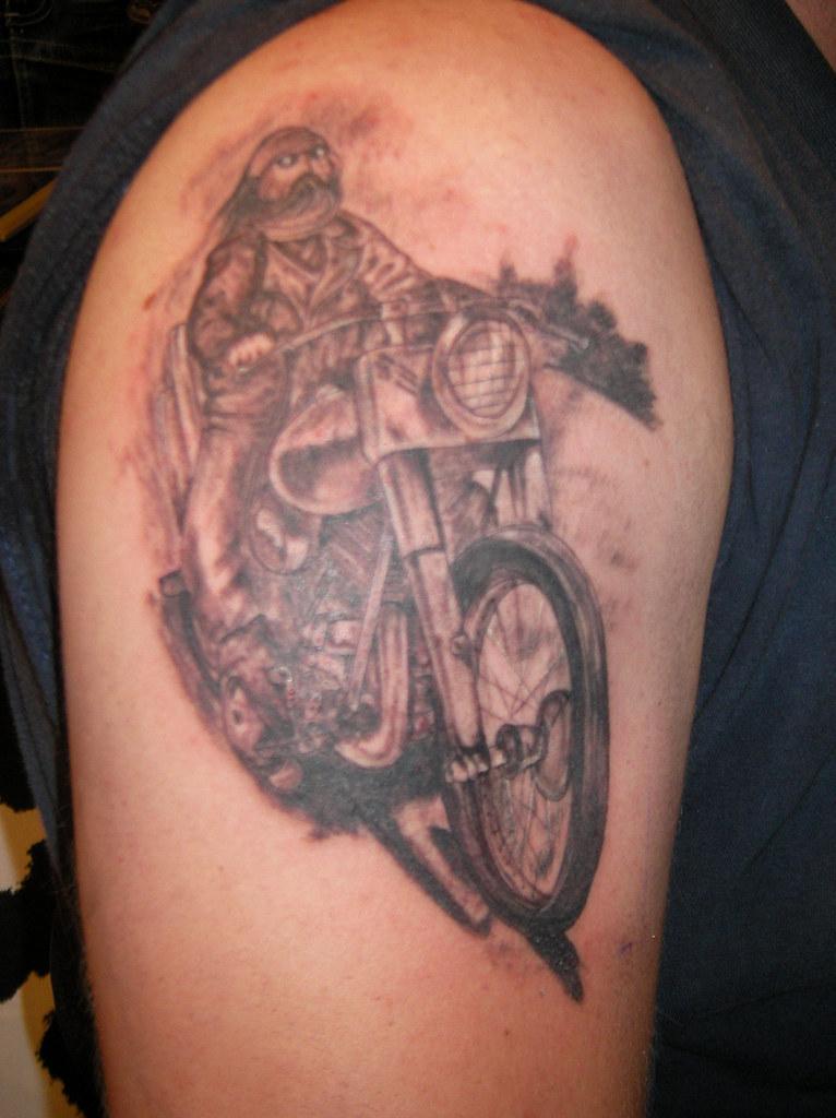 Tattoos Blanco Y Negro Flickr