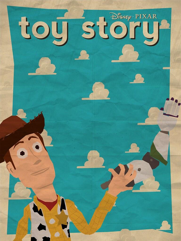 Toy Story Poster | Cartaz para o filme Toy Story (1995). | Matheus ...