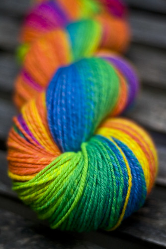 Rainbow Yarn | by SourCherries