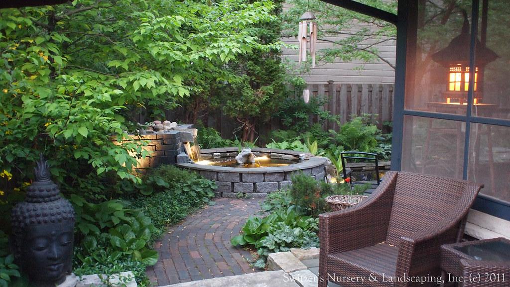 Minnesota landscape design inspired by bali natural ston for Bali landscape design