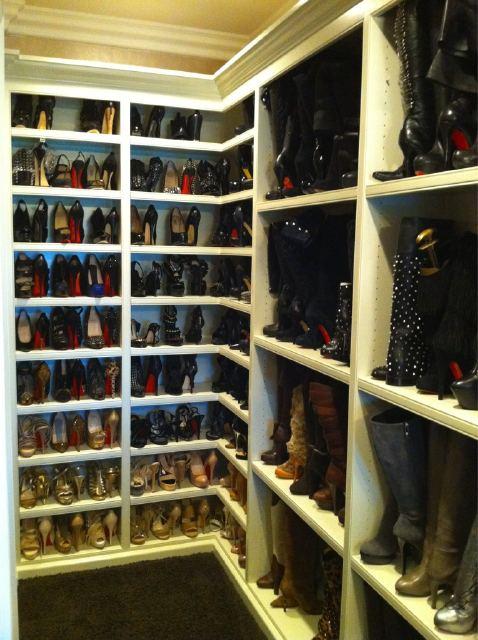 Khloe Kardashian Louboutin Closet | By Jordan23queen Khloe Kardashian  Louboutin Closet | By Jordan23queen