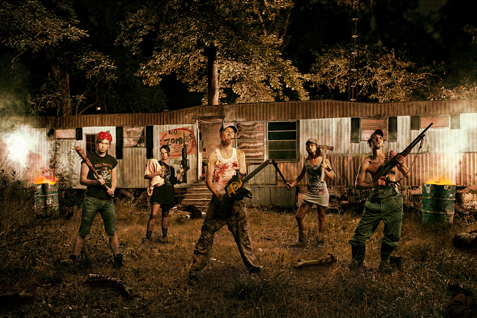 Redneck Zombie Killing Team Check Out Mhoganphoto Com