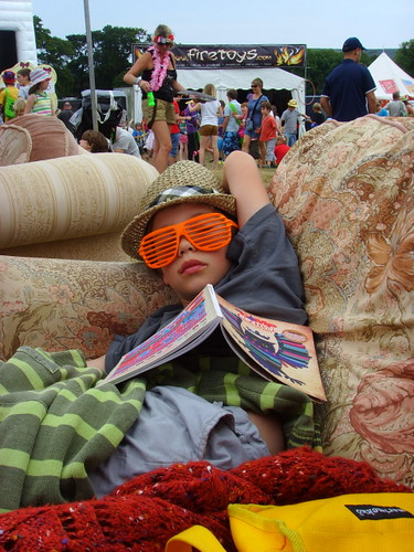 Chilling at Camp Bestival 2011 | by prince blucher