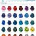 Tanis Fiber Arts Colours