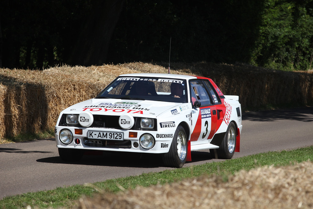 Toyota Celica Twin Cam Group B Rally Car Highlights From