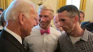 VP Joe Biden, Terry Miller, and Dan Savage | by Keshet: LGBT inclusion in the Jewish Community