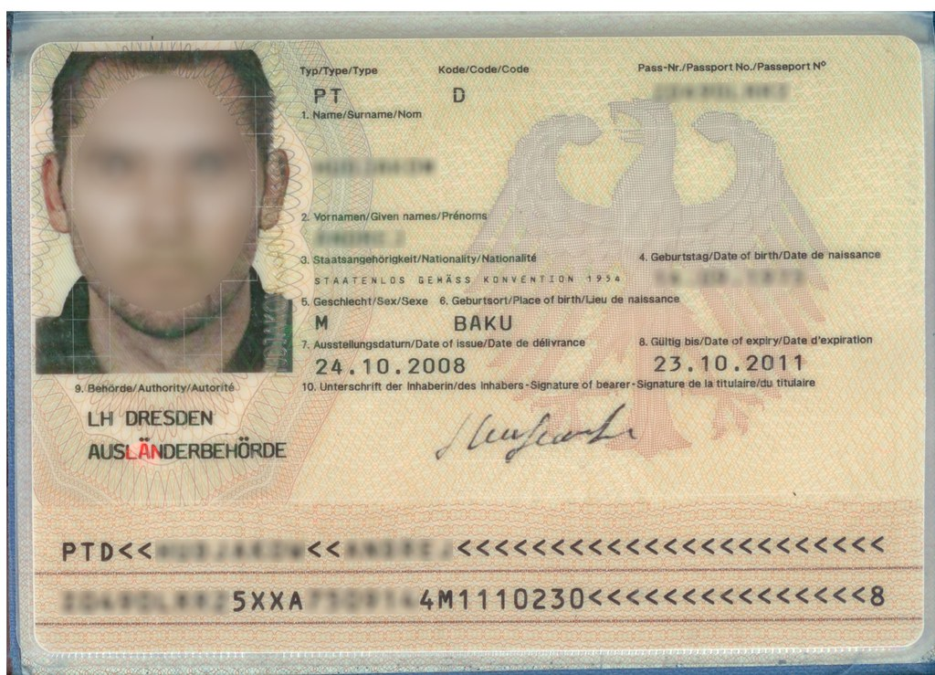 Stateless German Passport Anyaventura Flickr