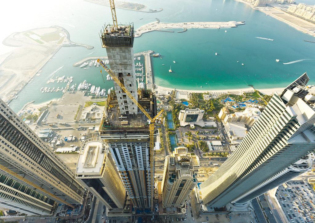 Elite Residence Tower in Dubai, U.A.E.   Doka defended its