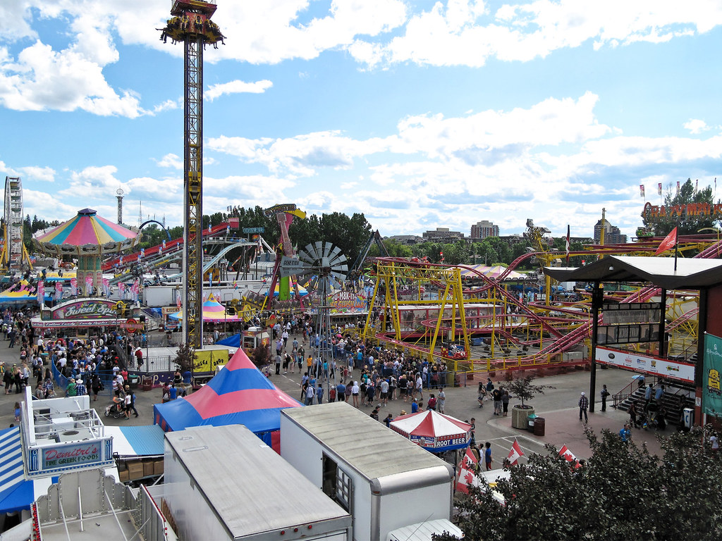 The Calgary Stampede Midway The Quot Older Kids Quot Rides At