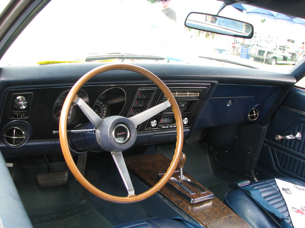 ... 1969 Pontiac Firebird Trans Am Interior | By Geognerd