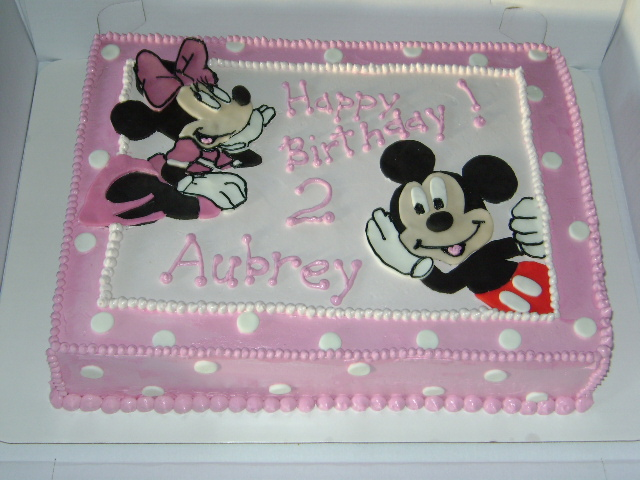 Mickey Minnie Cake Ideas