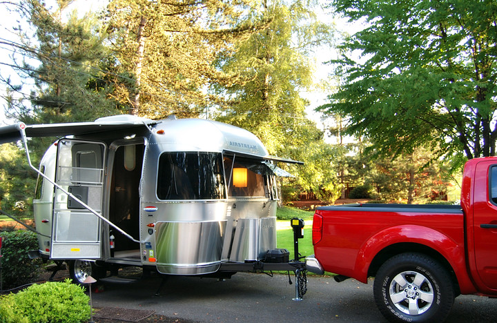 Our New Little Airstream Bambi 16 Ft Pulled With Our