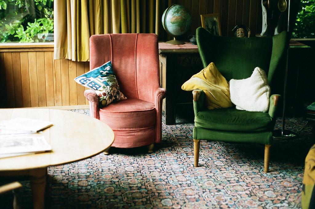 Eclectic Living Room Anna S British Grandparents