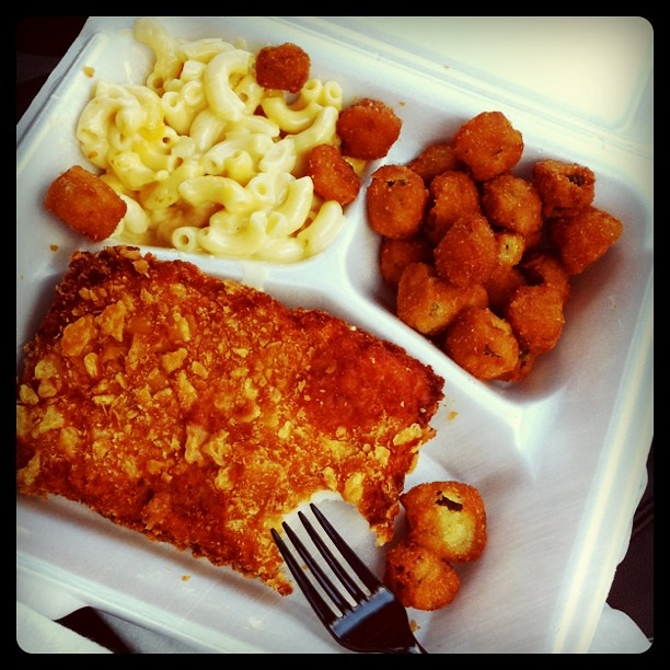 Luby 39 s fried fish mac n cheese and fried okra noticing for Lubys fried fish