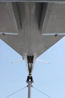 Untersicht: Tupolew Tu-144