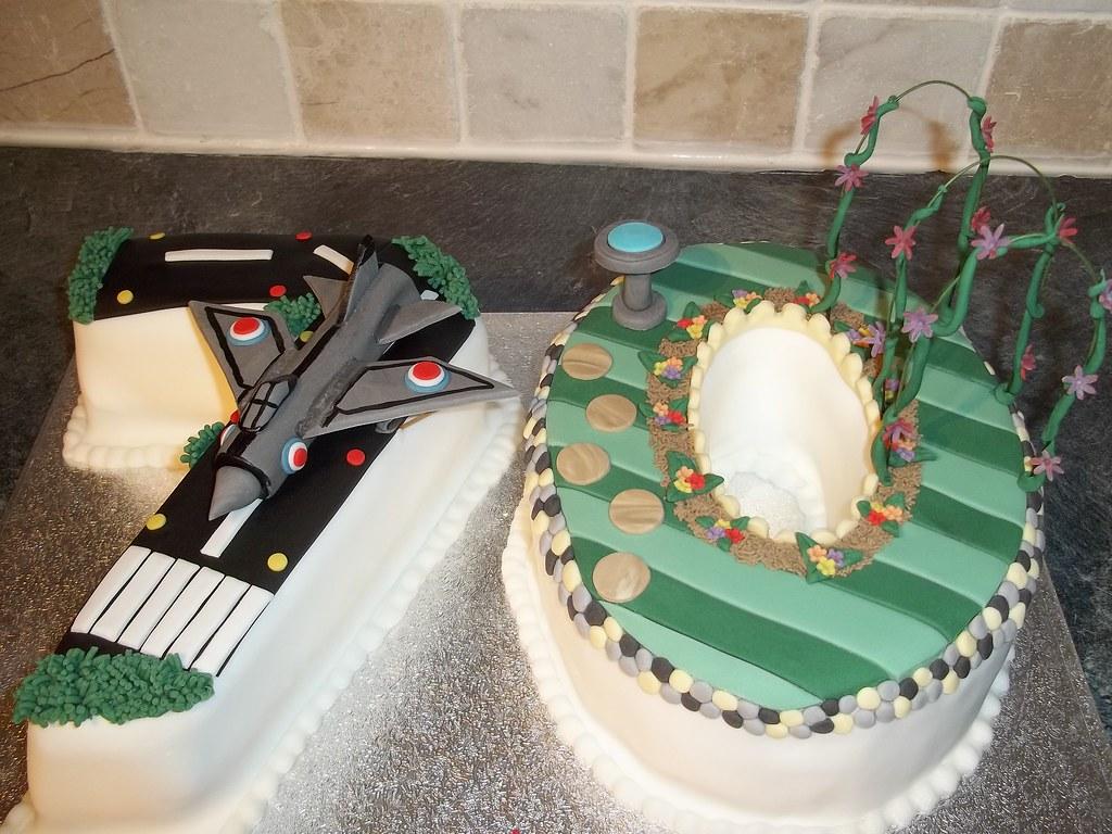 Aeroplane Birthday Cakes Images