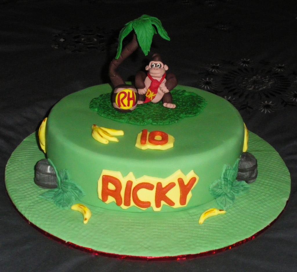 Pleasing Ricky 10 Donkey Kong Made For My Sons Birthday Donkey K Flickr Funny Birthday Cards Online Amentibdeldamsfinfo