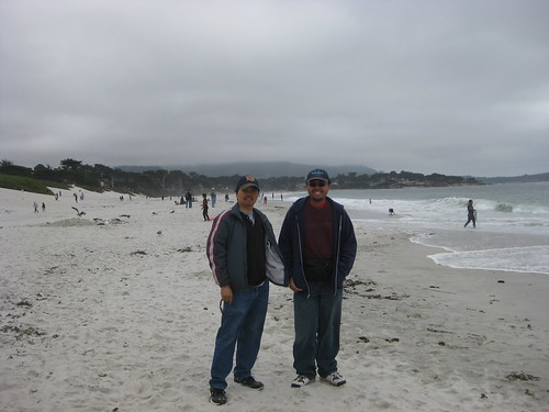 Me And My Dad at Carmel-by-the-Sea, CA (7-25-11) | by 54StorminWillyGJ54