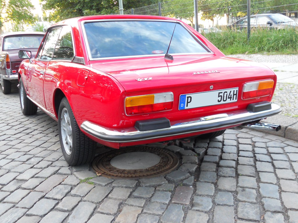 Peugeot 504 V6 Ti Coupe 1977 1983 Transaxle Alias Toprope Flickr