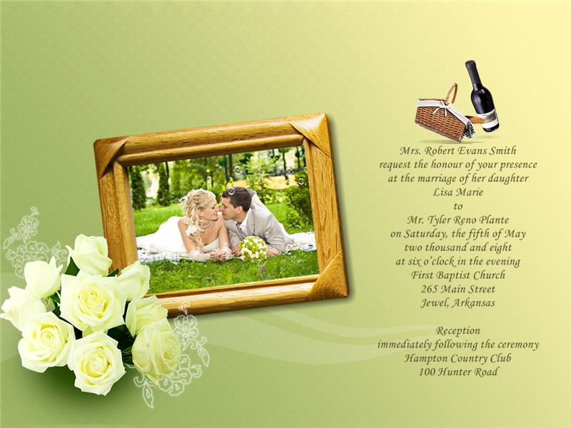 Wedding Invitation Makers: Picture Collage Maker Pro Helps You