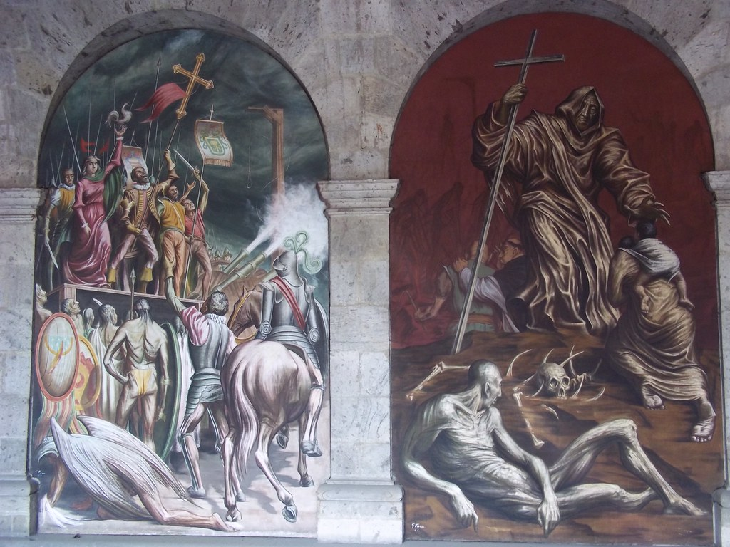 Palacio municipal mural by gabriel flores mural on the for Aviso de ocasion mural guadalajara