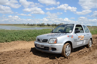 Our Trusty Off Road Micra | by Jamie Kitson