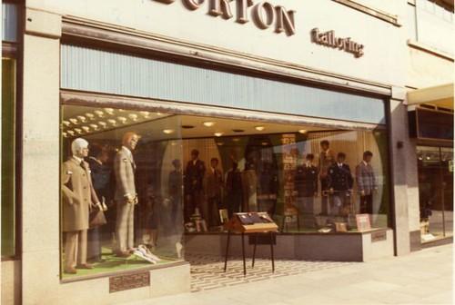 Burton Menswear Shop Eastlake Street Old Town Street Ply