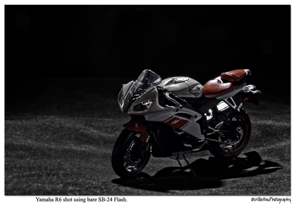 yamaha r6 using bare flash another shot of my miniature ya flickr. Black Bedroom Furniture Sets. Home Design Ideas