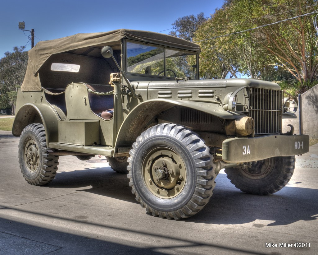 The Light >> WC-56 Dodge Command Car | The Dodge WC series was a range of… | Flickr