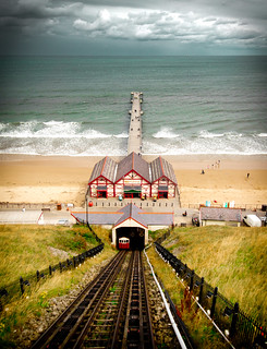 Saltburn from the cliff lift | by Lyle McCalmont