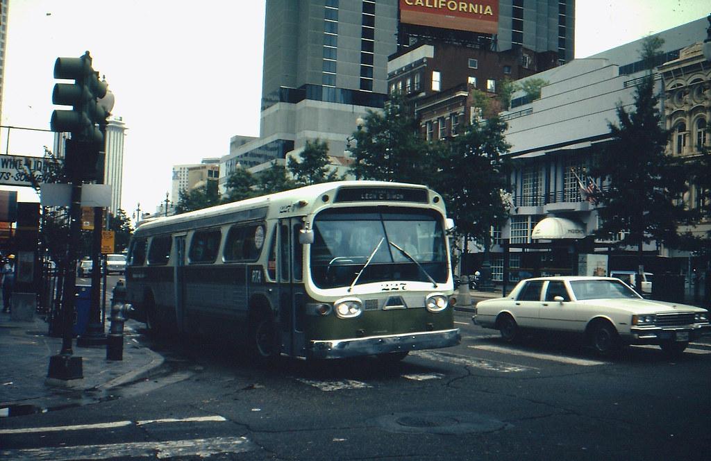 new orleans rta bus 227 july 1985 kevin mueller flickr. Black Bedroom Furniture Sets. Home Design Ideas