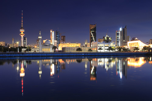 Kuwait - City Reflection | by © Saleh AlRashaid / www.Salehphotography.net