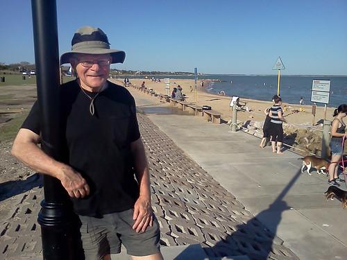 Richard at sylvan beach park la porte usa on galveston ba for La porte usa