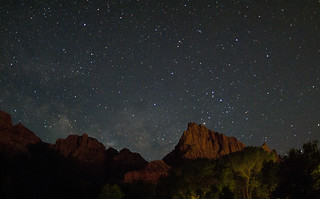 under a blanket of stars, not even a speck in this universe, I said goodnight to Zion | by *Starbuck*