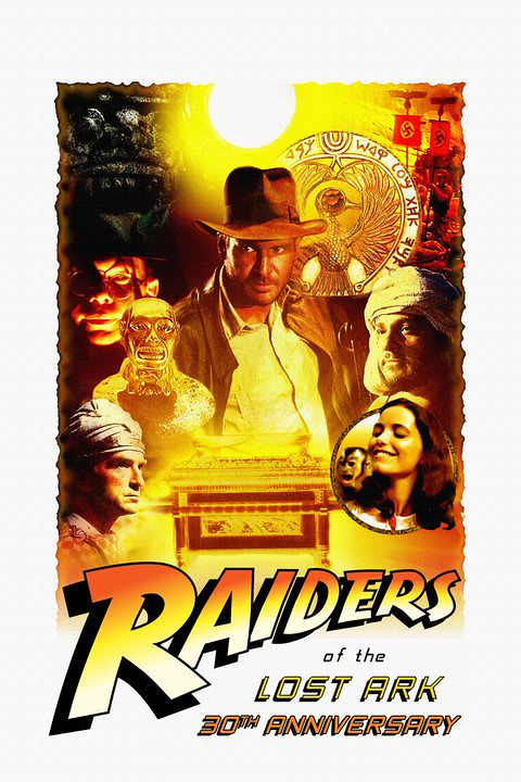 raiders of the lost ark with 30th logo raiders of the