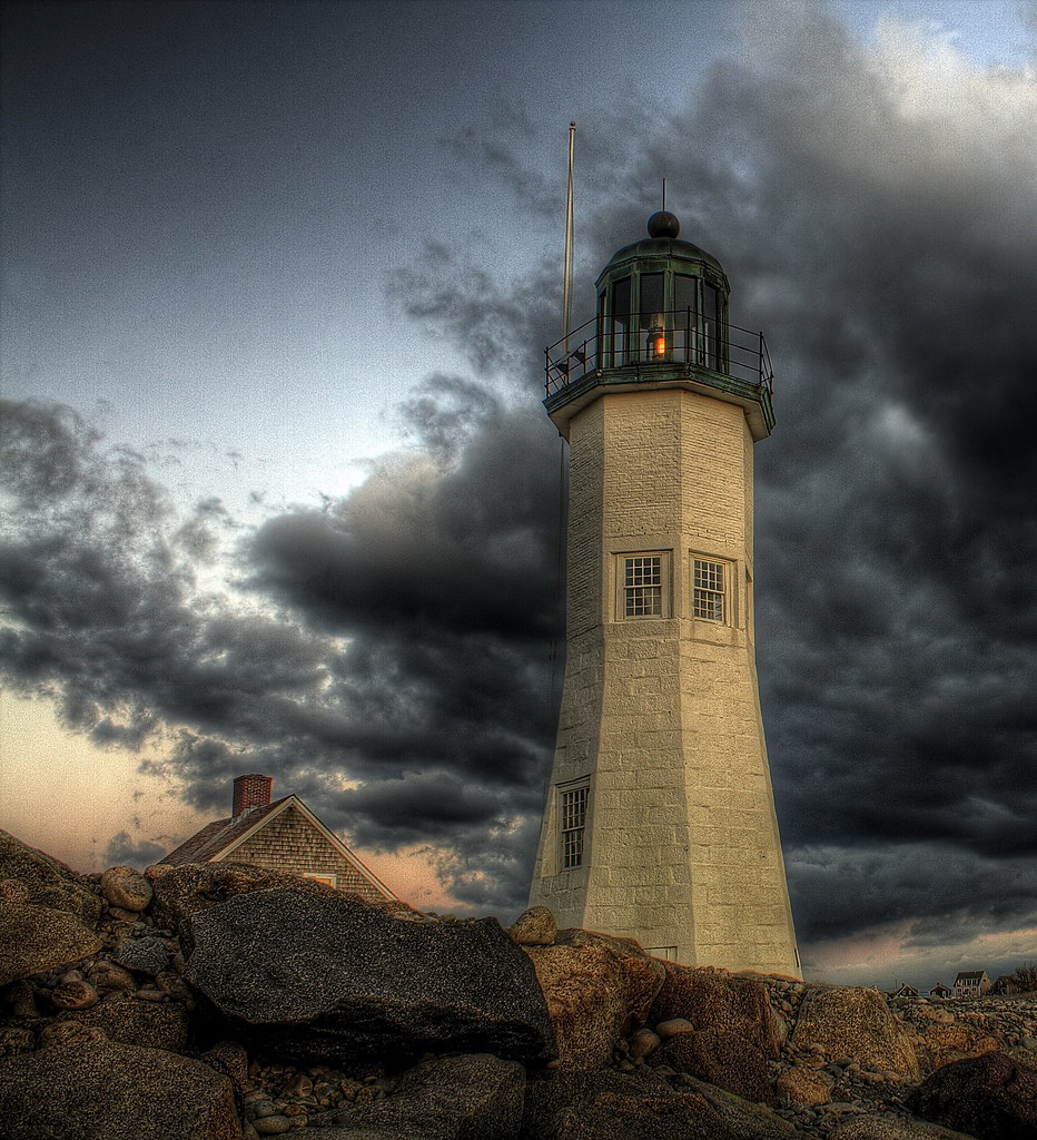 Harbor Lights: Scituate Harbor Light