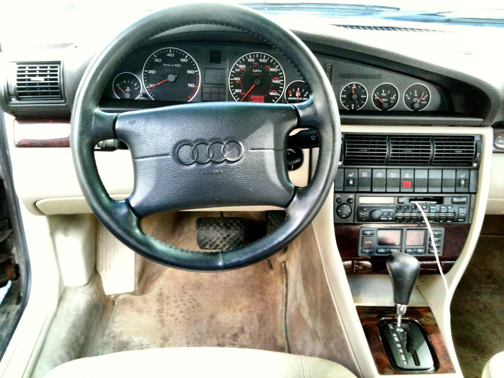 Sold 1996 Audi A6 Avant 1600 George Flickr