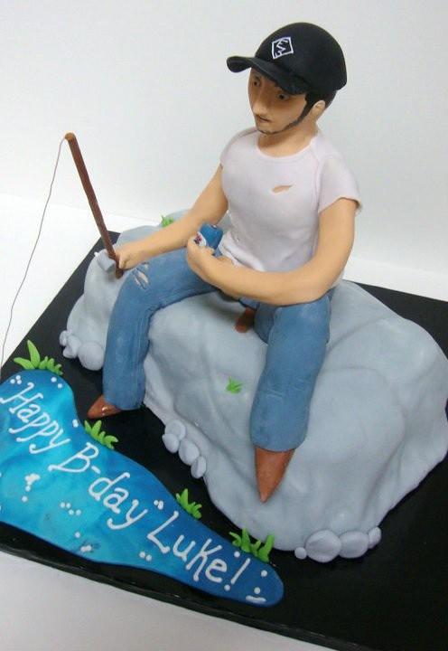 Birthday Cake For Country Music Artist Luke Bryan Samantha Slade