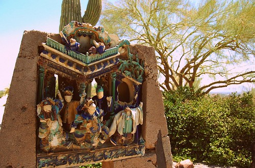 Chinese pottery, Taliesin West | by Judah Morford