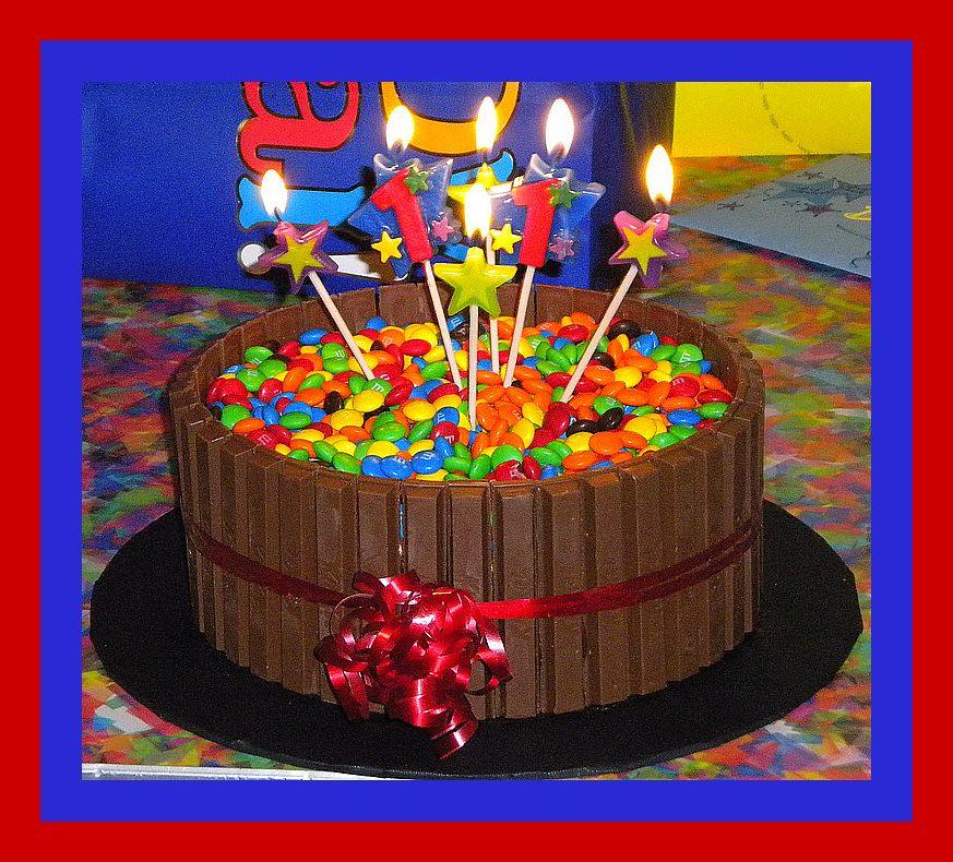 Kit Kat And Mm Birthday Cake Tinkabellz17 Flickr
