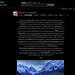 Flickriver User Tags View (Screenshot)