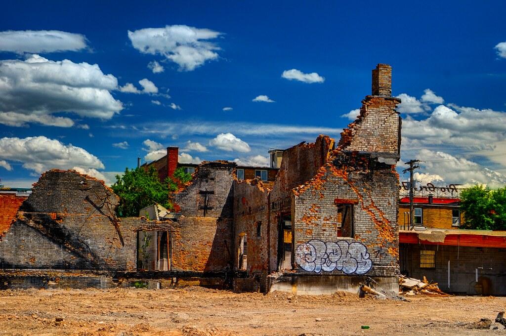 Abandoned Building Salt Lake City Utah Grover Massenburg