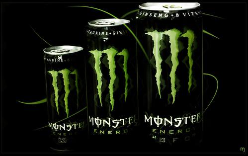 Huge Monster Energy Drink